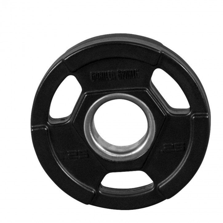 Pro Olympic Vinyl Tri Grip Weight Plate 1 25kg 100951