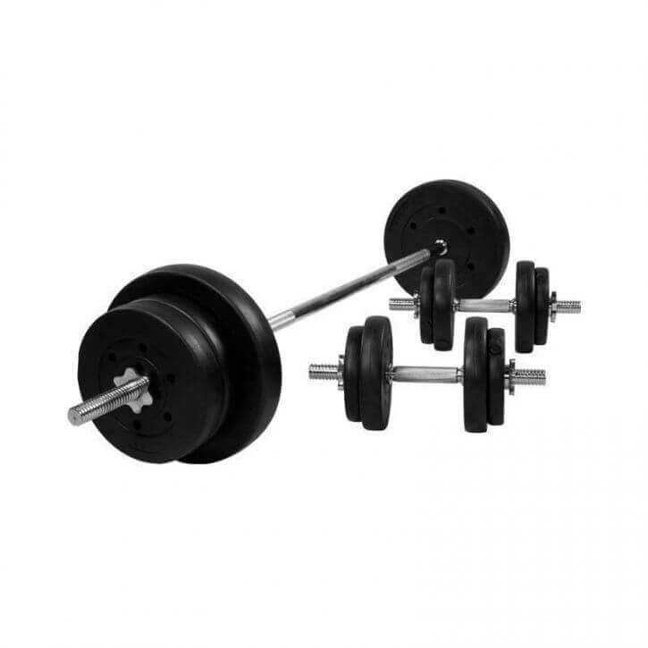 Weight Bench With 70kg Vinyl Weight Set 100420 00006 0046