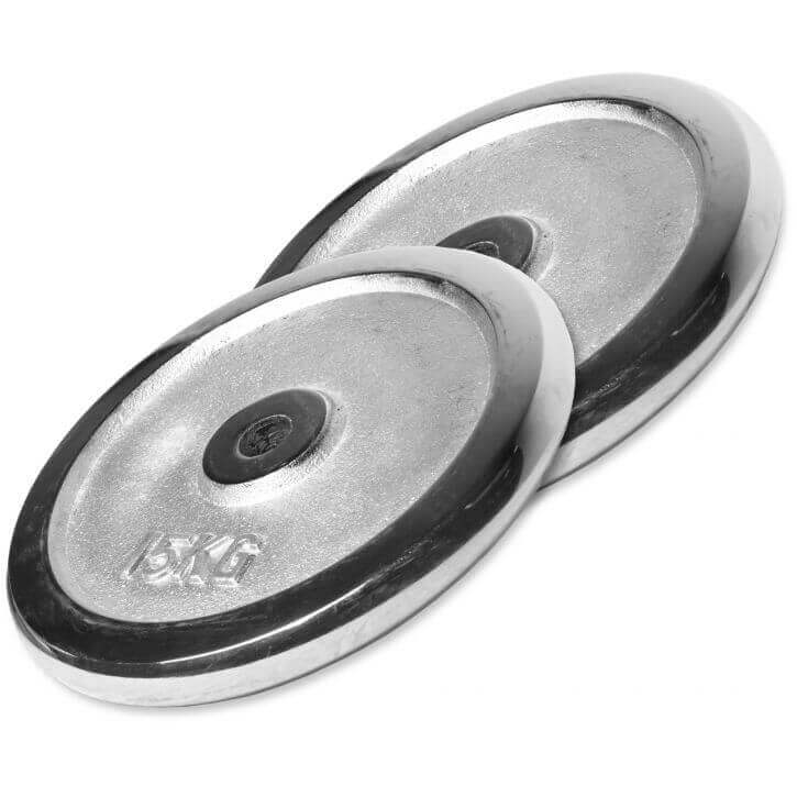 Gorilla Sports Chrome Weight Plate 0.5KG 30KG