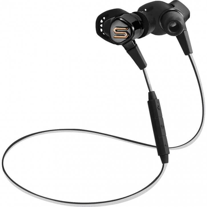 3cbc1a414be Soul Sports Bluetooth Earphones Run Free Pro HD Black-500004-00019-0001