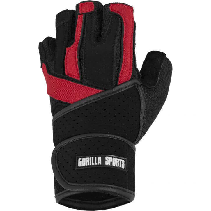 Deluxe Weight Lifting Gloves St12007: Deluxe Weight Lifting Gloves With Wrist Support